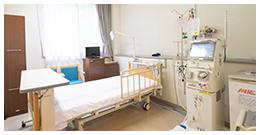 緊急時の入院に対応